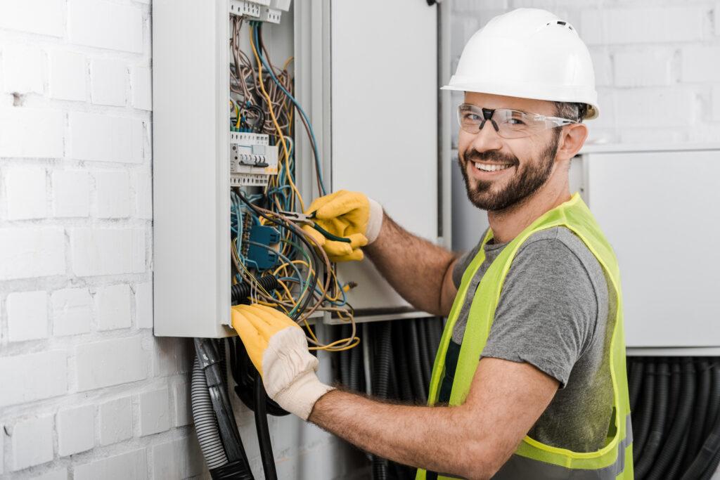 an electrician working near you